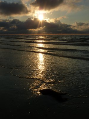 Sunset on Vlieland