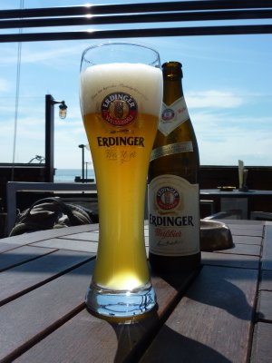 German beer on Dutch island
