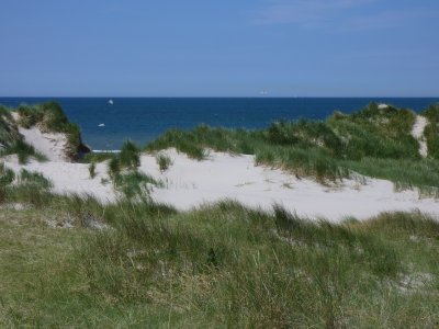 Vlieland's dunes and seaview