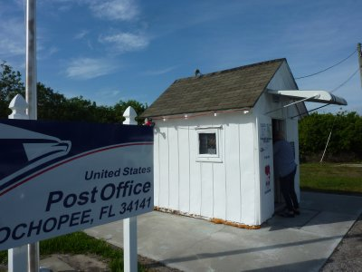 Ochopee Post Office, the smallest in the USA