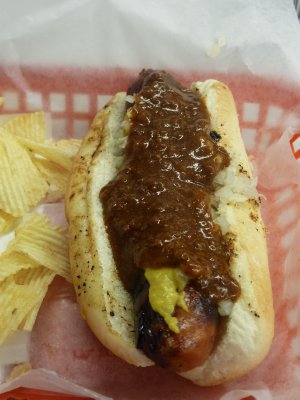 Ben&#39;s famous Chili Dog