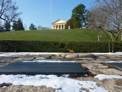 John F. Kennedy&#39;s Grave, Arlington Cemetery