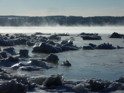 Steamy St. Lawrence
