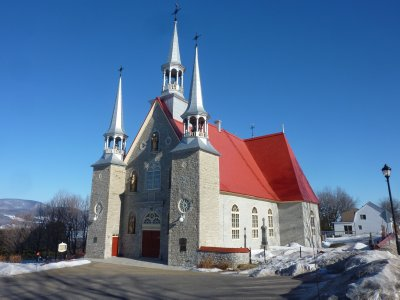 Church in Sainte-Famille, Ile d'Orléans