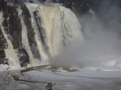 Montmorency Waterfalls