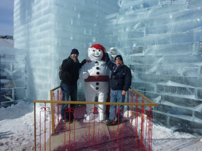 Tom, Bonhomme and me...;)