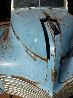 Old American Vintage Car