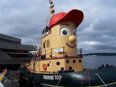 Kids tourboat, Halifax, Nova Scotia