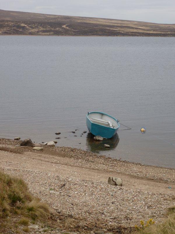 Off the beaten track lake