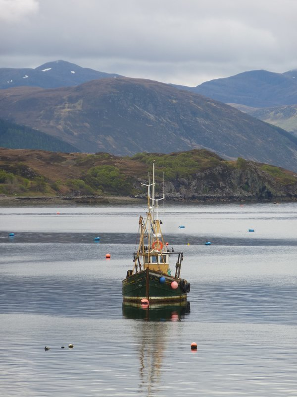 Ullapool's beautiful Highland Setting