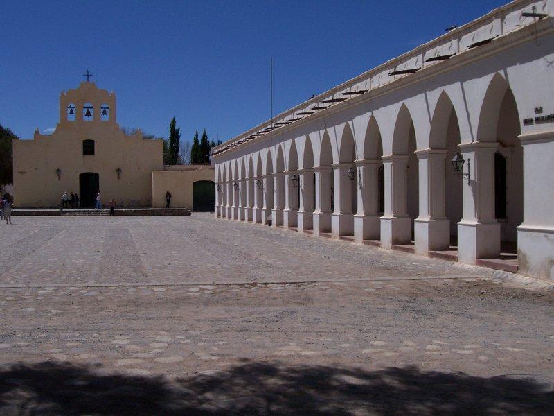 Cachi church and square