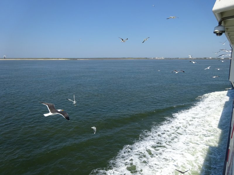 Ferry to Texel