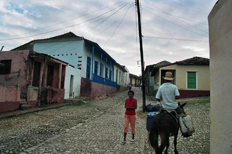 Colonial streets of Trinidad