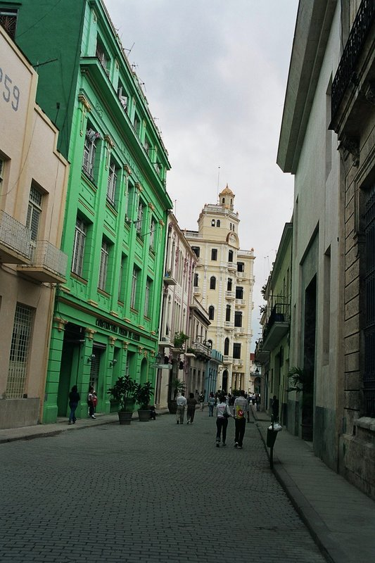 Colourful backstreet in Havana