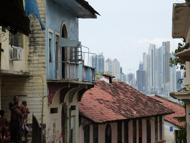 View from Casco Viejo towards Panama Centro