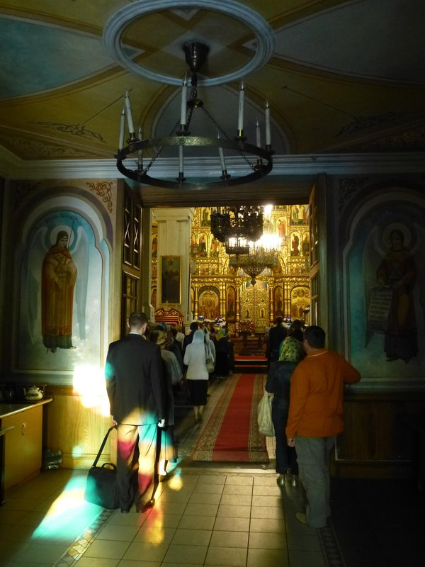 Zenkov Cathedral Entrance