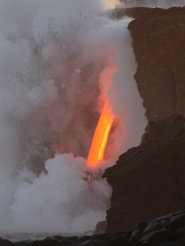 Lavafalls