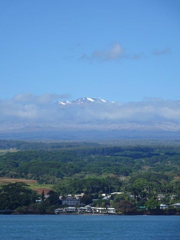 Mauna Kea as seen from Hilo