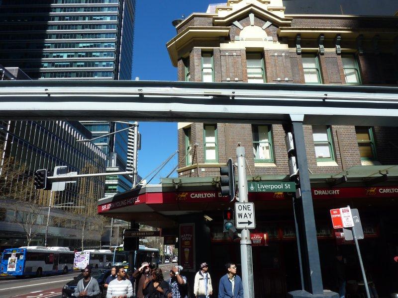 Dowtown Sydney