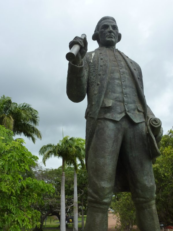 James Cook statue, Cooktown