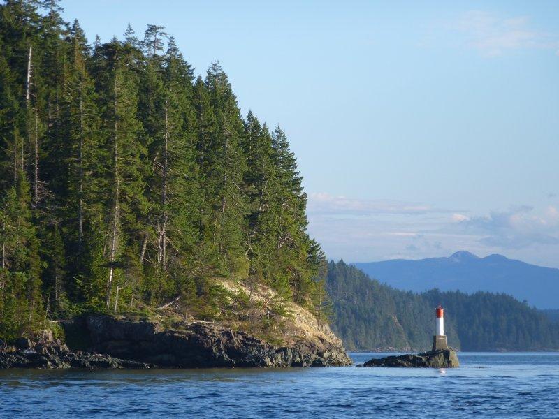 Johnston Strait Lighthouse