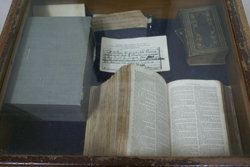 Fletcher's Christian Bible in the Museum