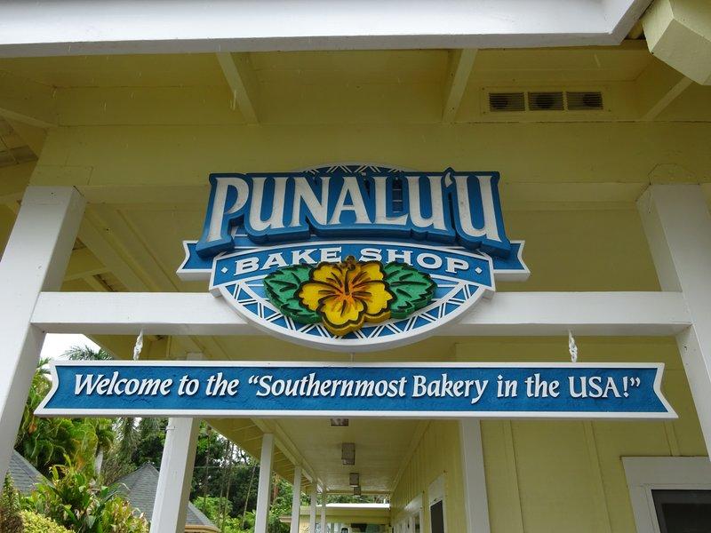 Punalu'u Bake Shop, Naalehu
