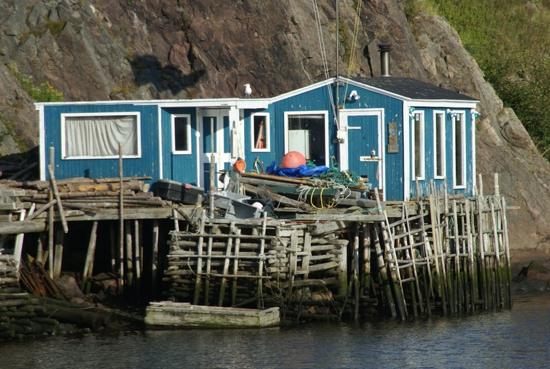 Fishing community near St. John's, Newfoundland