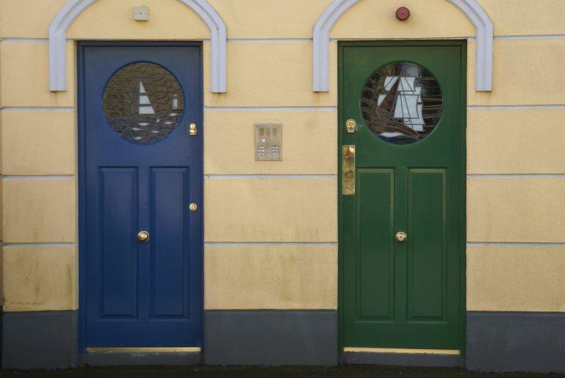 Cobh front doors
