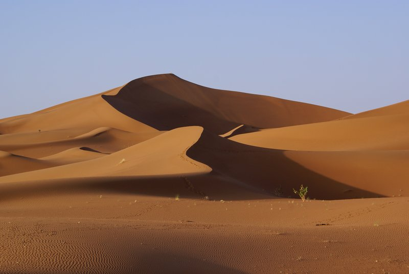 Erg Chigaga sand dunes