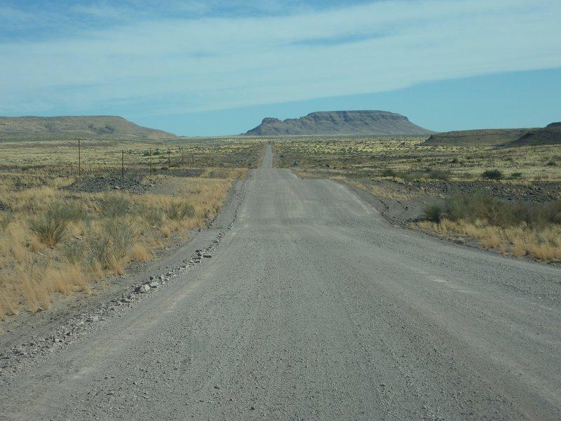 En route in Namibia