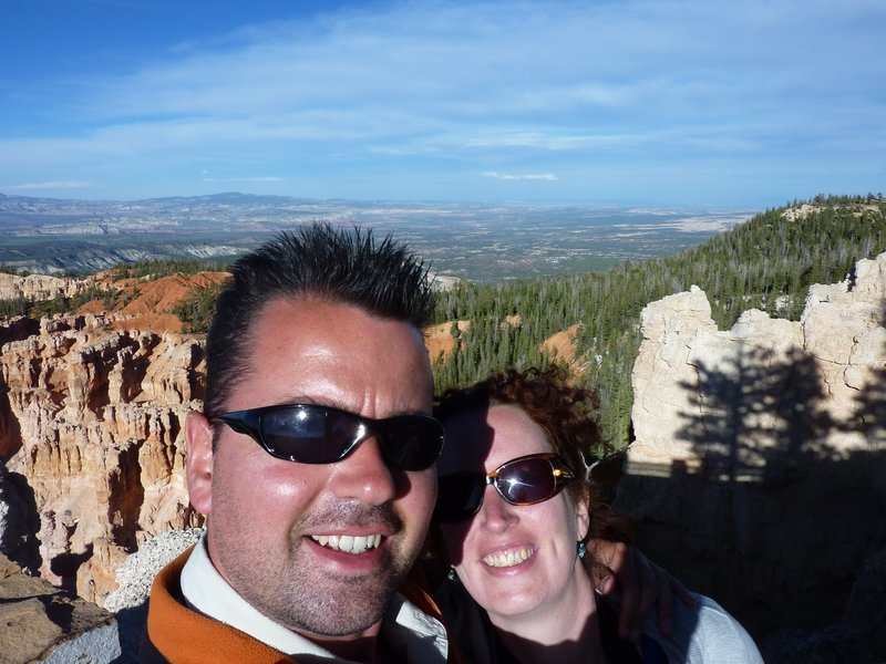 Me and Eva at Bryce Canyon