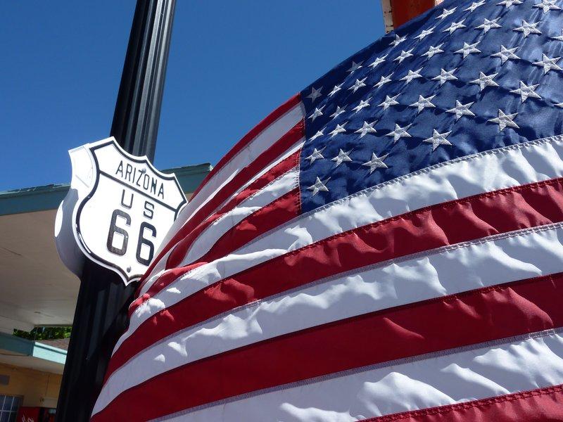 Along Route 66, Arizona