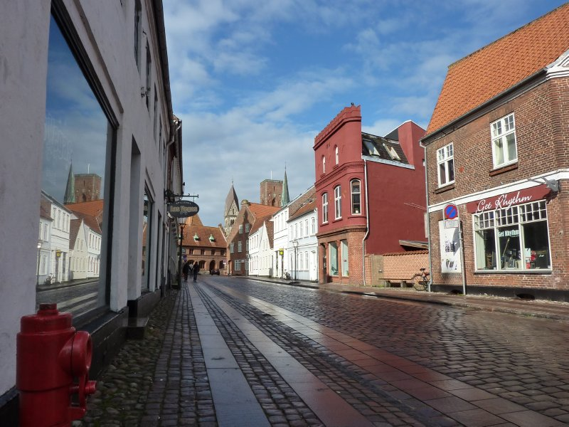 Quiet Sunday morning in Ribe