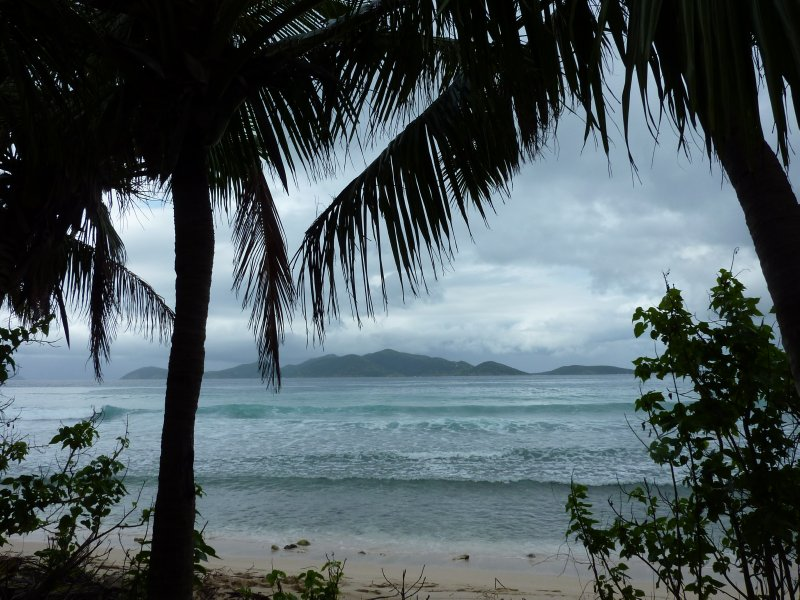 View towards Jost van Dyke from Tortola