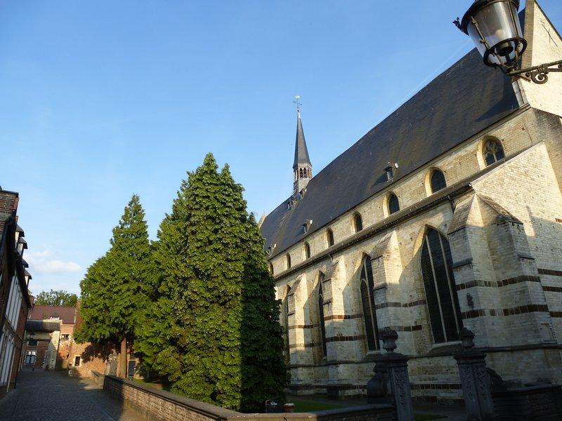 Church in Leuven's Béguinage