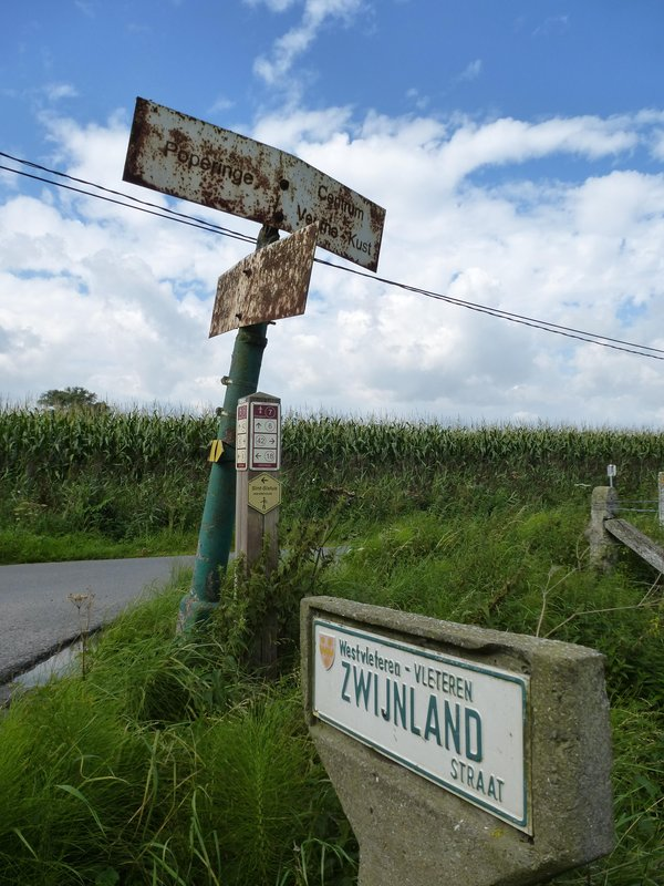 Old Rural Traffic Signs