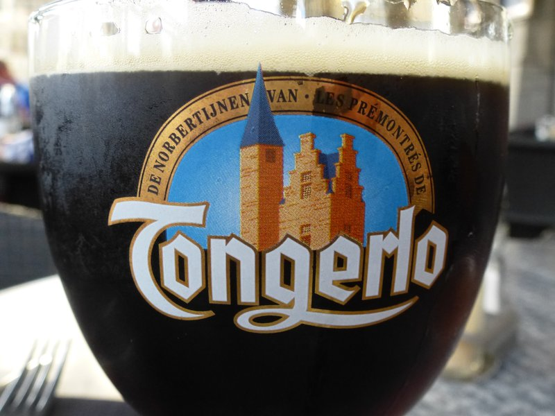 Every Beer Glass is Art in Belgium