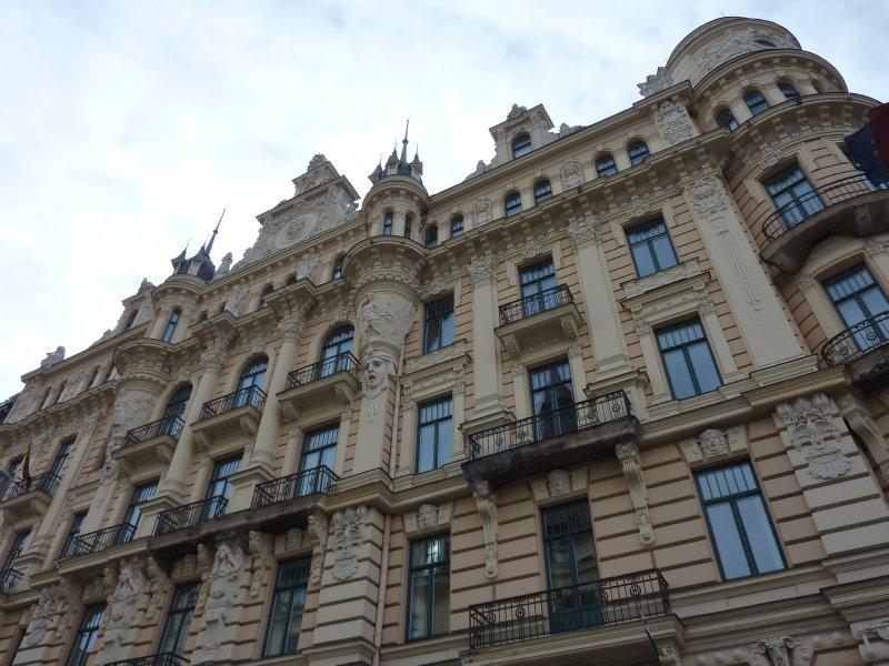Jugendstill building, Riga