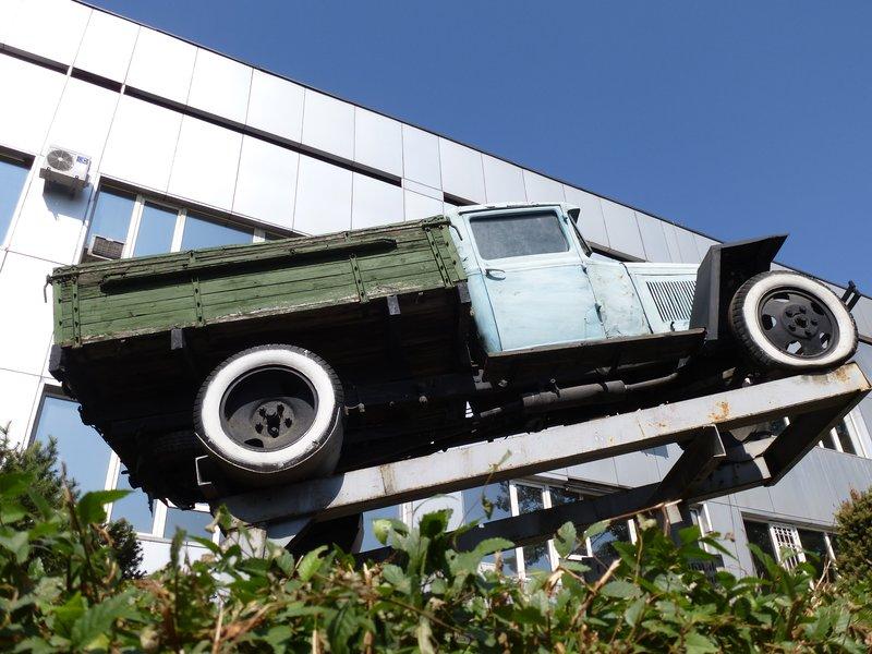 Old Sovjet Truck