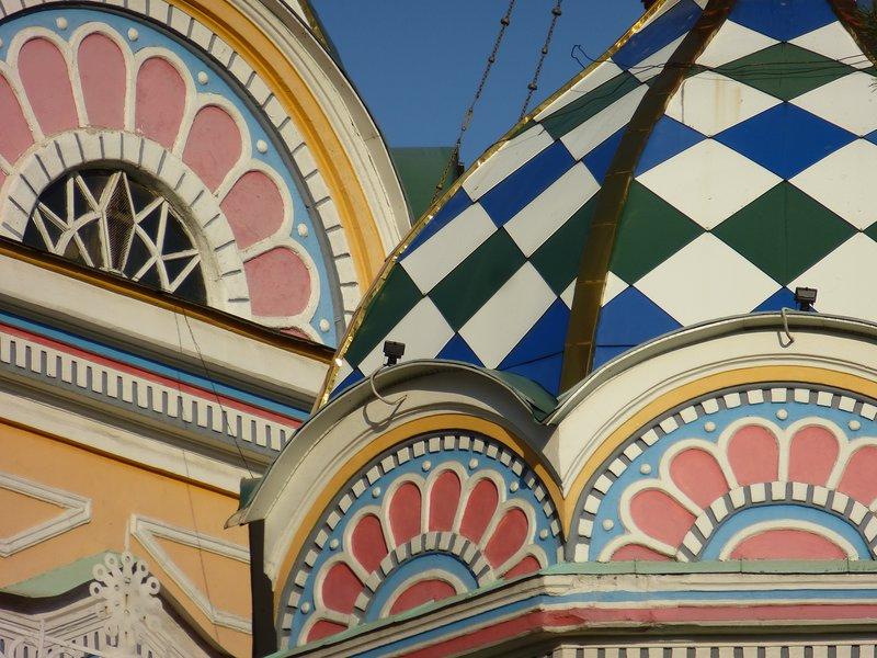 Zenkov Cathedral Detail