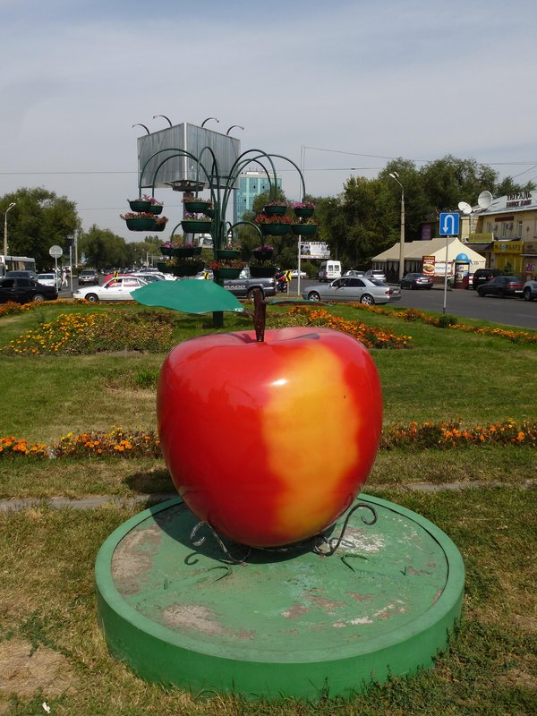Almaty is the city of apples