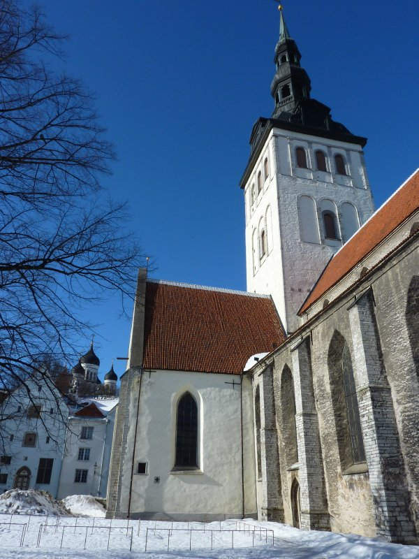The Gothic St. Nicholas' Church, Tallinn