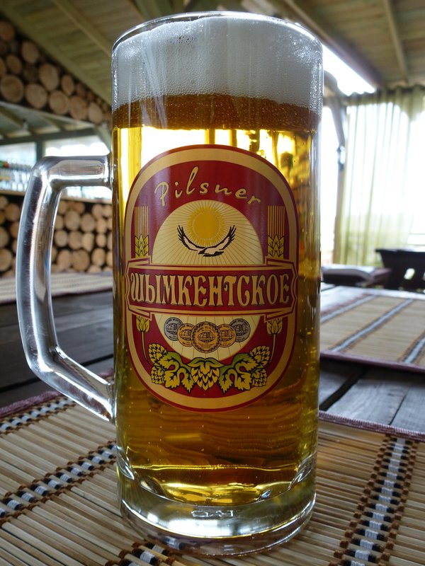 Local Kazakh Beer