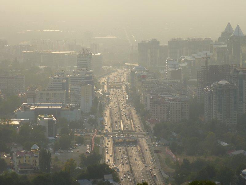 Almaty's Arterial Road
