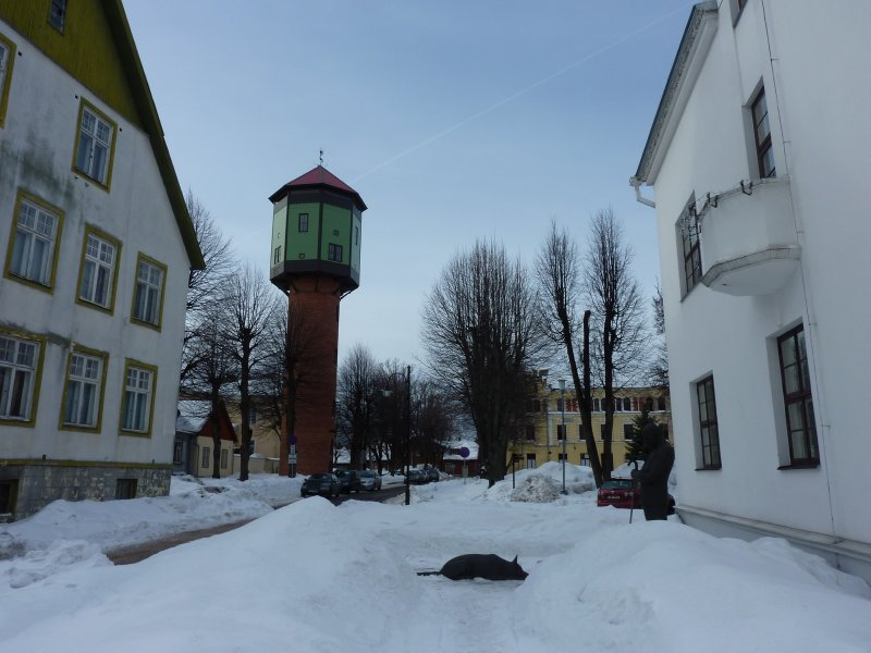 Old Water Tower, Viljandi