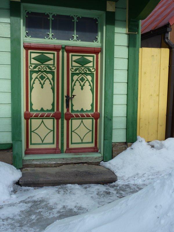 Old wooden door, Viljandi