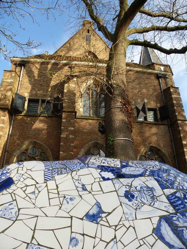 Delft's Blue and Old Church