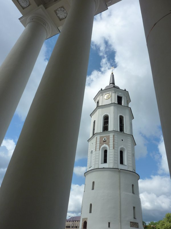 Belfry at Vilnius Cathedral