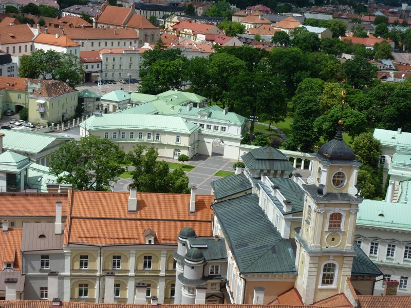 University Buildings and Presidential Palace, Vilnius